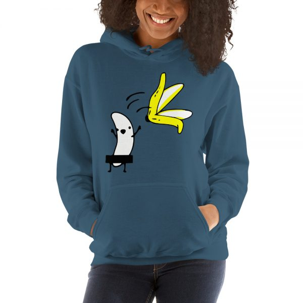 Funny Banana Hooded Sweatshirt