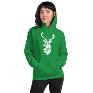 mockup 0f948ea4 300x300 - Christmas deer Hooded Sweatshirt