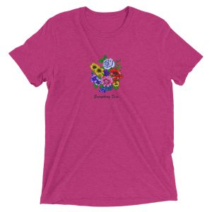 EVERYTHING DIES Flowers t shirt