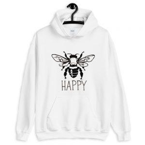 mockup 212580db 300x300 - Bee happy Hooded Sweatshirt
