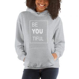 mockup 2c640b62 300x300 - Be You Tiful Hooded Sweatshirt