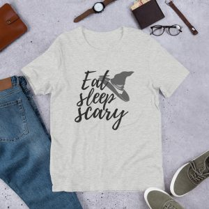 mockup 37b1b6fa 300x300 - EAT Sleep Scary T-Shirt