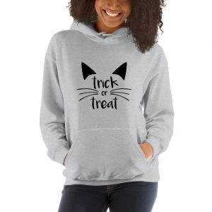 mockup 3b142d85 300x300 - Trick or Treat Cat Hooded Sweatshirt