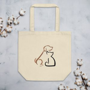 mockup 3c5cca85 300x300 - Dog and cat Eco Tote Bag