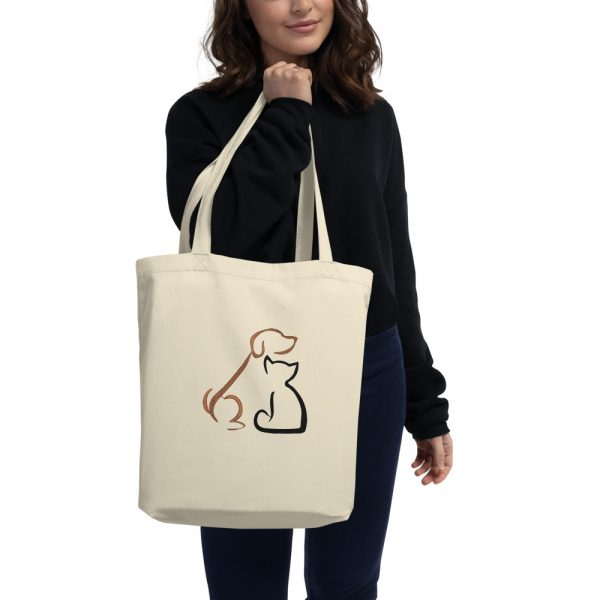 Dog and cat Eco Tote Bag
