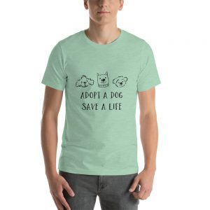 Adopt a puppy pet adaption T Shirt