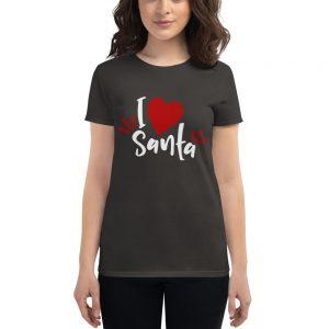 mockup 90157243 300x300 - I love santa t shirt