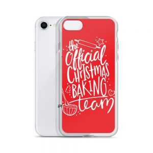 The Official Christmas Baking Team iPhone Case