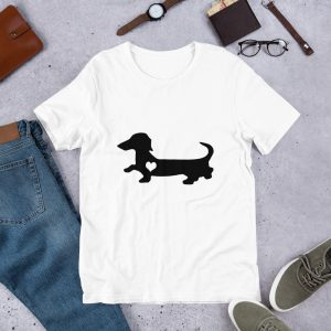 mockup 9cfe3bed 300x300 - Dachshund heart dog T-Shirt