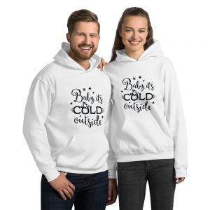 mockup a11ce9e5 300x300 - Baby its cold outside Hooded Sweatshirt