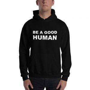 mockup ae68810e 300x300 - Be a Good Human Hooded Sweatshirt