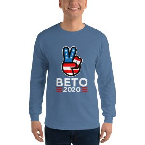 mockup c2e787c6 300x300 - Beto For President Long Sleeve T Shirt