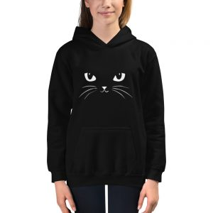 mockup c7ab1a37 300x300 - Cat face Kids Hoodie