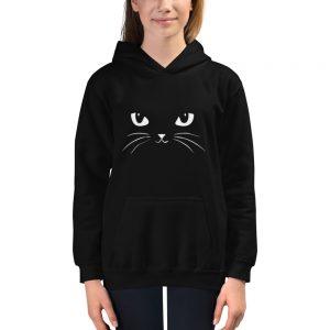 mockup c7ab1a37 300x300 - Cat face Kids Hoodie