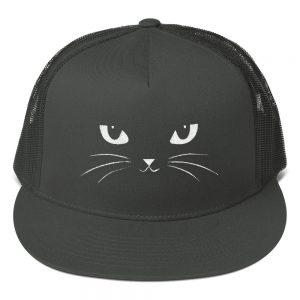 mockup d2febd3b 300x300 - Cat Face Mesh Back Snapback