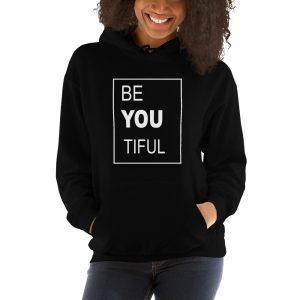 mockup e7a16e57 300x300 - Be You Tiful Hooded Sweatshirt