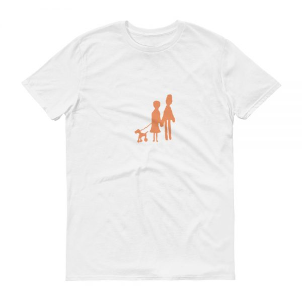 Family And Dog T Shirt