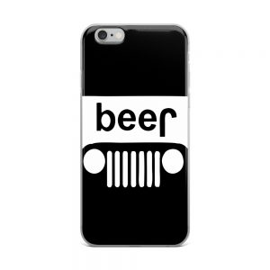 Beer Jeep iPhone Case