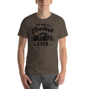 The World's Coolest Grandpa Ever Unisex T Shirt