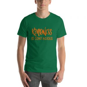 mockup 18f515c6 300x300 - Kindness is contagious Unisex T Shirt