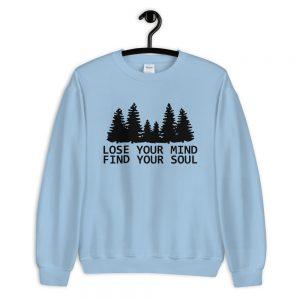 mockup 1af0bce2 300x300 - Lose your mind Find your Soul Sweatshirt
