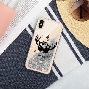 mockup 2511fec6 300x300 - Be Wild and Free Liquid Glitter Phone Case