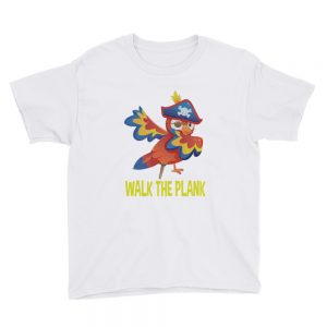 mockup 25a30411 300x300 - Walk the plank Youth Short Sleeve T Shirt