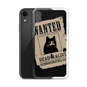 Dead and Alive Schrodingers Cat iPhone Case