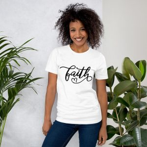 mockup 49fcf834 300x300 - Faith Unisex T Shirt