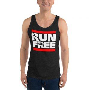 Run Free Unisex Tank Top