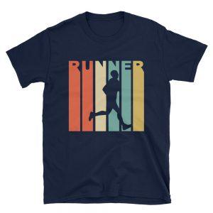 Vintage Runner Unisex T Shirt