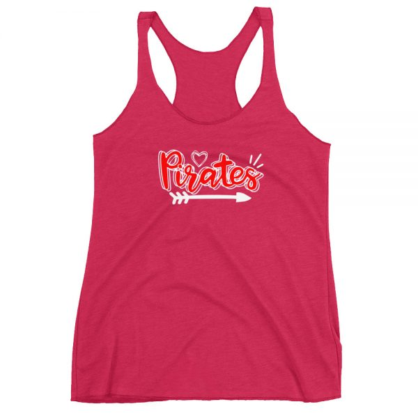 Pirates Womens Racerback Tank