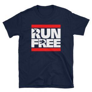 Run Free Unisex T Shirt