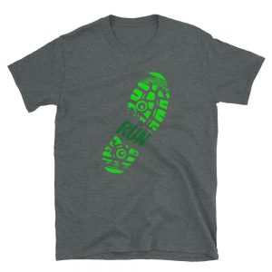 Run Shoes Print Unisex T Shirt