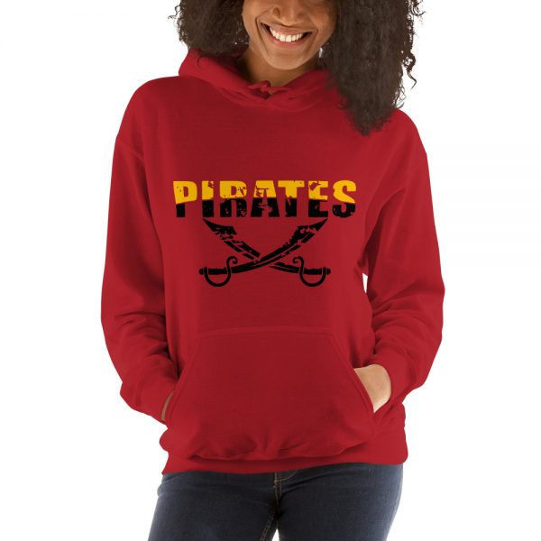 Baseball school spirit Hooded Sweatshirt
