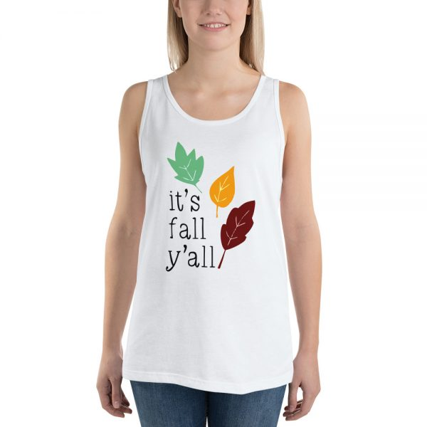 Its fall yall Unisex Tank Top