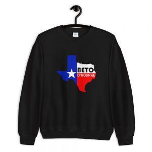 Beto orourke texas pride vote Unisex Sweatshirt