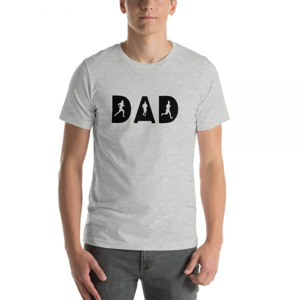 Dad Runner Short Sleeve Unisex T Shirt