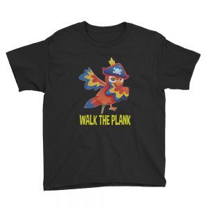 mockup a18443d8 300x300 - Walk the plank Youth Short Sleeve T Shirt