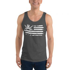 Pirate Skull Flag Unisex Tank Top