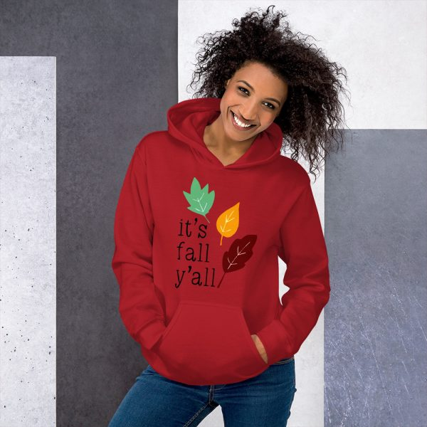 Its fall yall Hooded Sweatshirt