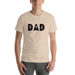 Dad Runner Short Sleeve Unisex T Shirt