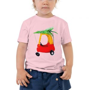 Christmas raglan toddler Toddler Short Sleeve Tee