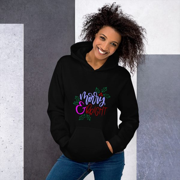 Merry & Bright Hooded Sweatshirt