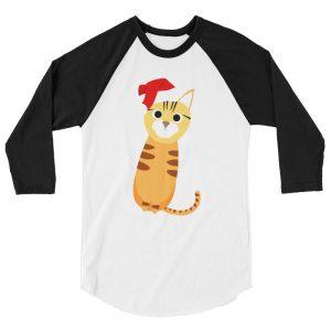 mockup f8644831 300x300 - Bengal cat 3/4 sleeve raglan shirt