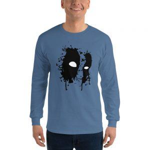 Black Mask Long Sleeve T Shirt