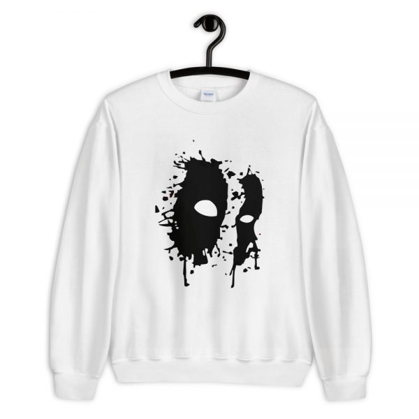 Black Mask Unisex Sweatshirt