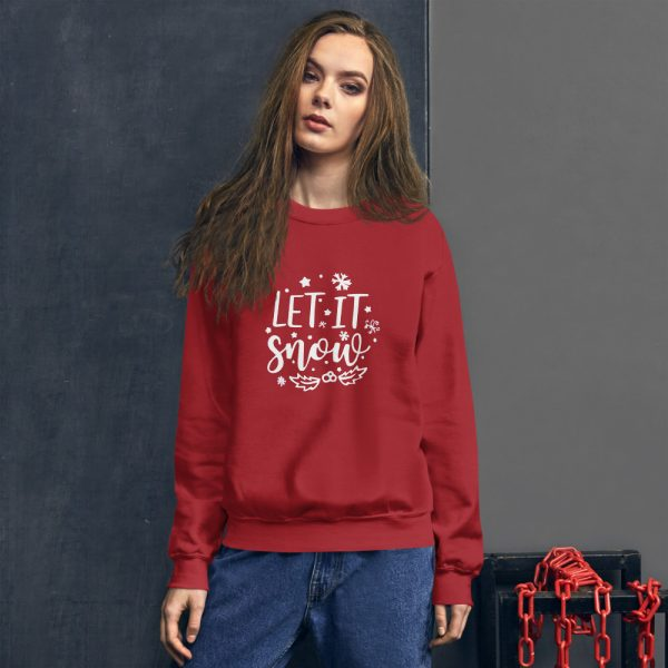 Let it snow christmas Unisex Sweatshirt
