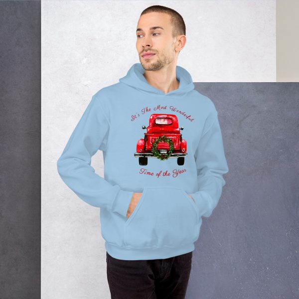 Truck with tree Unisex Hoodie