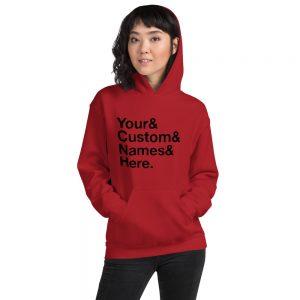 Custom classic Unisex Hoodie